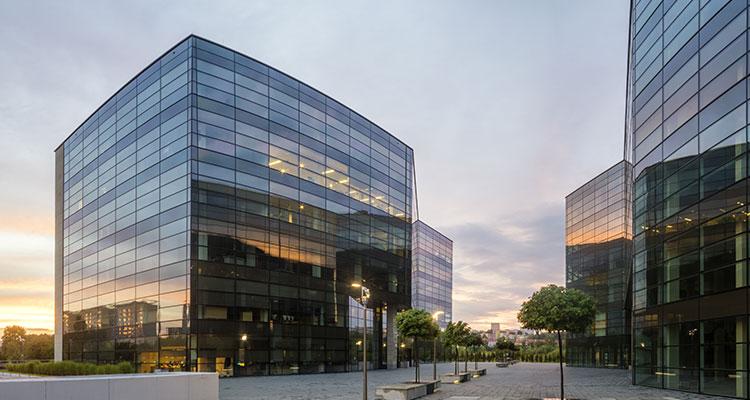 Услуги по проектированию и строительству офисных зданий